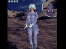 Manga aliens fuck hard in anime porn game