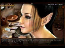 Adult elf porn game with busty elves