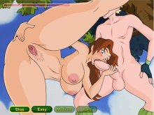 Hardcore porn games with harem girls fucking hard