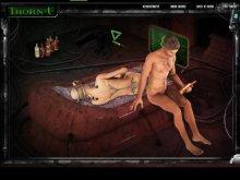 Kinky porn game with fantasty fetish sex
