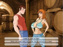 Anie game with 2d porn and busty sex