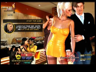 Porn game with sexy hooker fucking for money