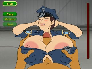 Sexy officer fucks during her holidays
