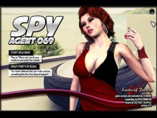 Sexy spies fuck in adult spy games